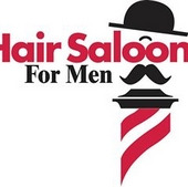 Hair Saloon For Men Logo
