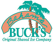 Bahama Buck's Original Shaved Ice Company Logo