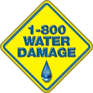 1-800-Water Damage Logo