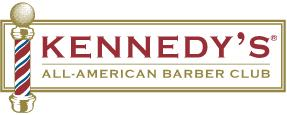 Kennedy's All-American Barber Club Logo