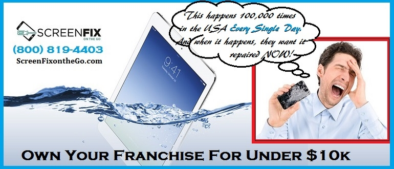 Screen Fix On The Go Franchise